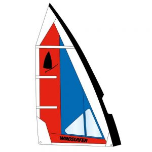 Voile Windsurfer 5.7 - Action Fun Lorient